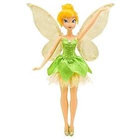 Disney Fluttering Tinker Bell Doll -- 11''