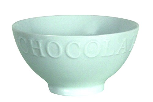 Novastyl-7056008-Lot-de-6-Bols-Chocolat-Cafine-Porcelaine-Blanc-38-cl