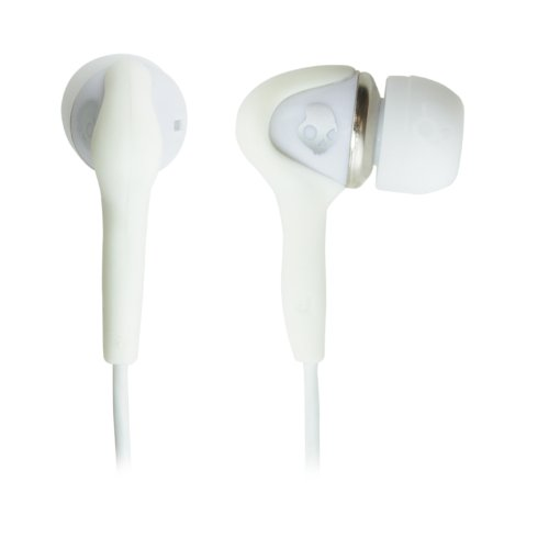Skullcandy Smokin' Mic'D Stereo Headset, White
