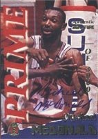 Michael McDonald Golden State Warriors 1995 Signature Rookies Prime Authentic... by Hall of Fame Memorabilia