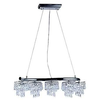 Luxuriant Crystal Pendant Lights With 10 LEDs Amazonco