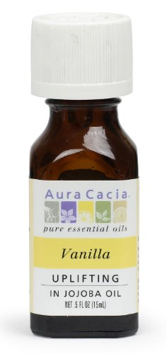 Aura Cacia Essential Oil, Uplifting Vanilla, 0.5 fluid ounce