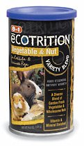 Buy 8 in 1 Ecotrition Vegetable & Nut Variety Blend- for Rabbits & Guinea Pigs 6.5 oz.