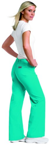 Urbane 9502 Women's Relaxed Drawstring Pant Scuba Blue XX-Large