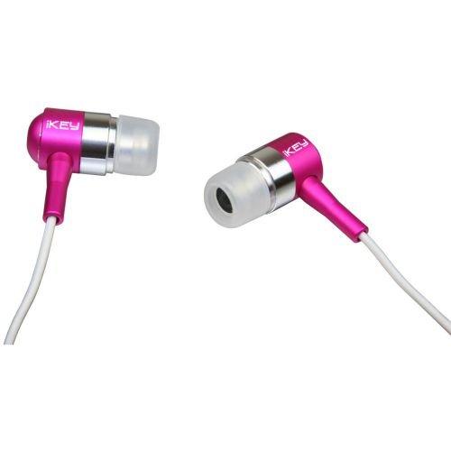 Ikey Audio E180 Ear Drumz Earbuds, Pink