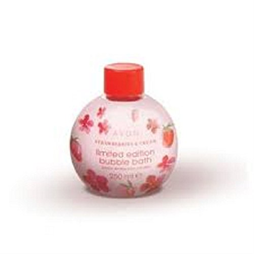 avon-strawberries-and-cream-bubble-bath-bauble-250ml