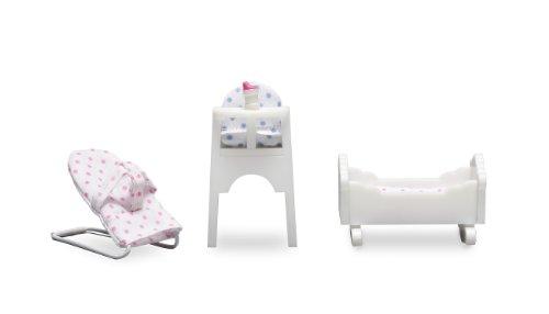 Lundby (Dolls House) - Småland Baby Furniture Set 1:18 Scale