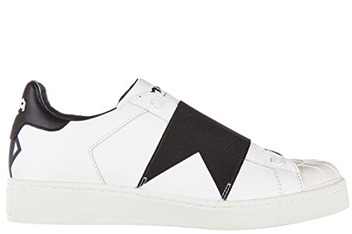 Moa Master of Arts scarpe sneakers donna in pelle nuove action bianco EU 37 M406 M08B