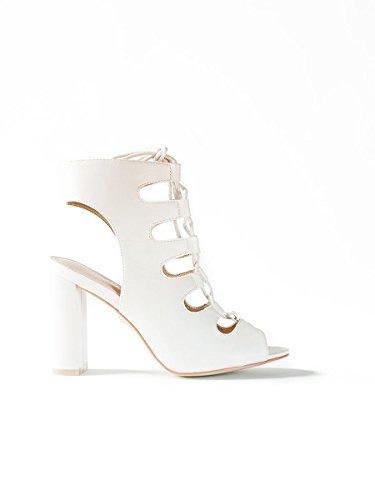 Naomi White, 38, White - Sandalo Alto - Martina Gabriele shoes
