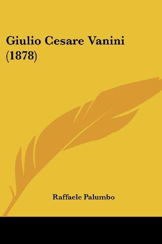 Giulio Cesare Vanini (1878)