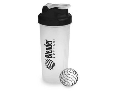 BlenderBottle Classic Shaker Bottle, Clear/Black, 28-Ounce (Mixing Sports Bottle compare prices)