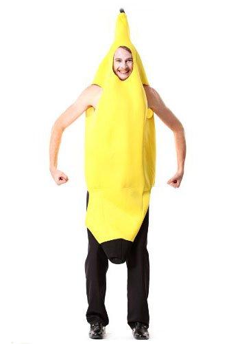 バナナ 衣装 banana 服 大人 ハロウィン 仮装 グッズ 舞踏会 学園祭 フリーサイズ コスチューム アニメ専線