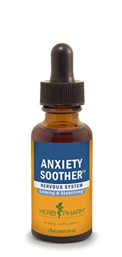 Herb Pharm Anxiety Soother Herbal Formula with Kava For Nervous System Support - 1 Ounce (Herb Pharm Kava Extract compare prices)