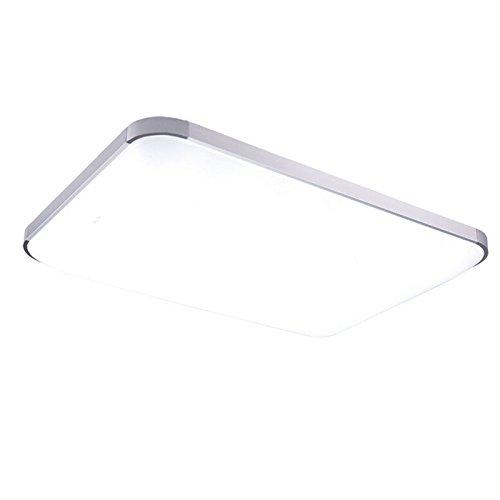 MCTECH 48W Warmweiss Kaltweiss Dimmbar LED Deckenleuchte Modern Deckenlampe Flur Wohnzimmer Lampe Schlafzimmer Von