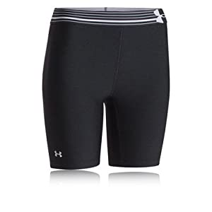 Under Armour Women's UA HeatGear Armour Long Compression Shorts