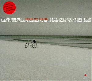 Original album cover of From My Home: Music from the Baltic Countries by Gidon Kremer