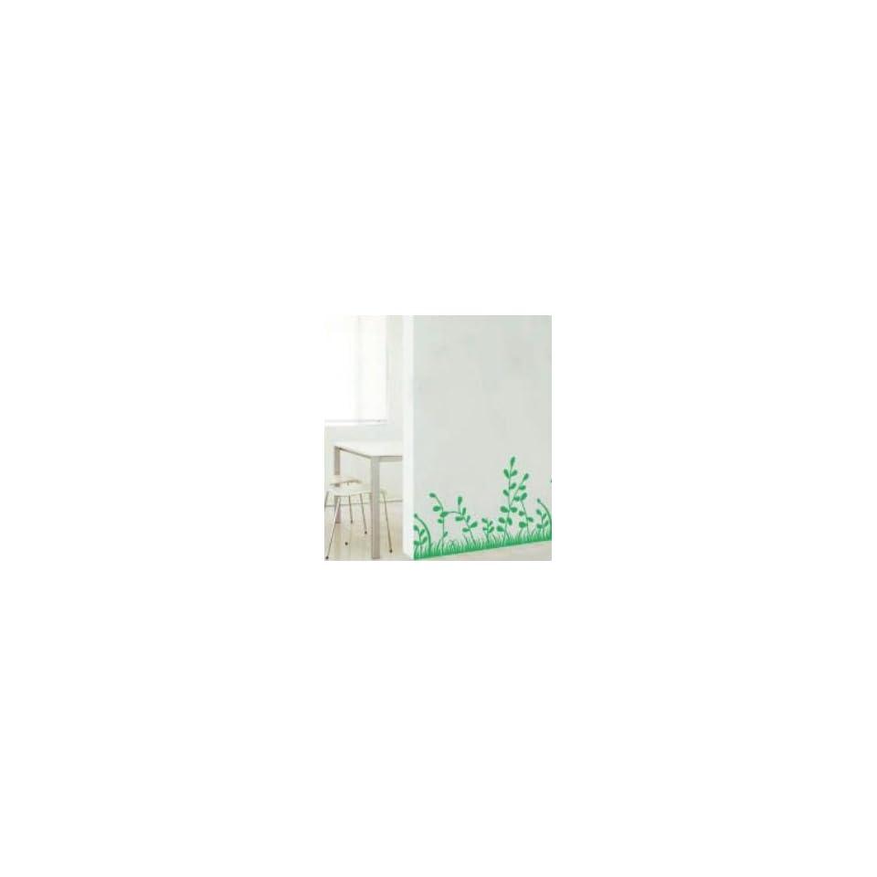 Green Grass Field   Loft 520 Home Decor Vinyl Mural Art Wall Paper Stickers