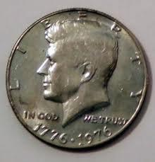 1976 No Mint Mark (Philadelphia) Uncirculated Kennedy Half Dollar