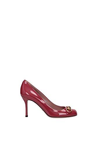 Decolletes Gucci Donna Vernice Rosso (Tibet Red) 323499BNC006414 Rosso 38EU