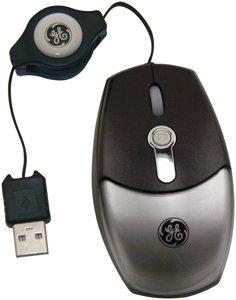 Ge 98094 Retractable Mini Optical Mouse