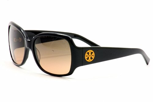 Tory Burch Tory Burch 7004 Sunglasses 501 95 Black Grey Orange Fade