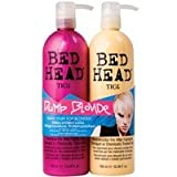 TIGI Bed Head Hair Care Dumb Blonde Tween Set: 750ml Shampoo & 750ml Reconstructor 750mlby TIGI