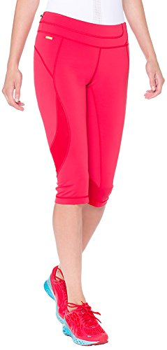 LOLE Women's Run Capris, X-Small, Chillies