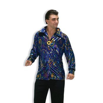 Dynomite Dude Disco Shirt Halloween Costume