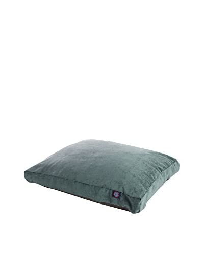 Villa Collection Small Rectangle Pet Bed, Azure