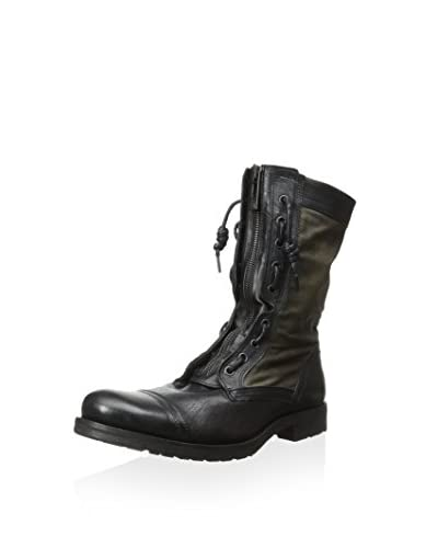 Rogue Men's Romb Tall Mixed Material Lace-Up Boot