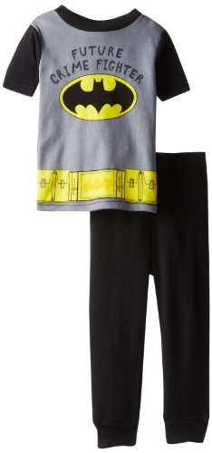 Ame Sleepwear Little Boys' Batman Pajama Set, Assorted, 2T
