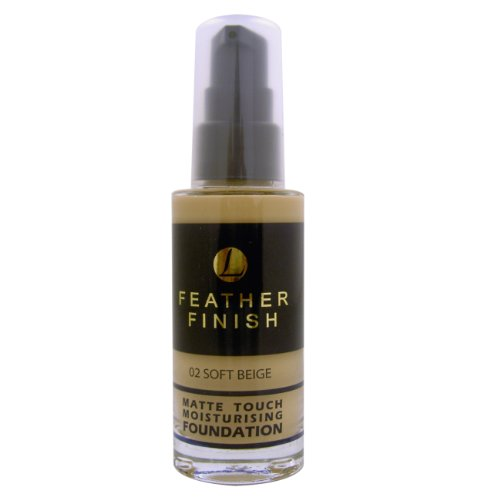 Mayfair, Feather Finish, Fondotinta opacizzante idratante, n. 02 Soft Beige, 30 ml