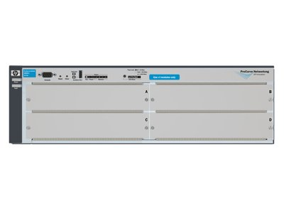 HEWLETT PACKARD Procurve Switch 4204 vL Modular expansion base Rack-mountable Wired