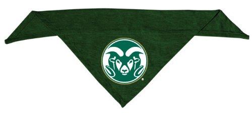 Dog Zone NCAA Pet Cotton Bandana, Large, Colorado State University