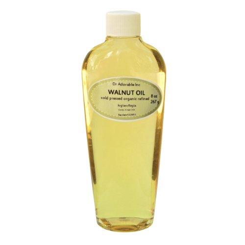 Walnut Oil Organic Cold Pressed 8 Oz