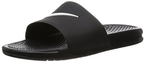 Nike Benassi Shower Slide, Sandali Uomo, Nero (Black/White), 46 EU