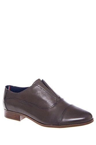 Finn Low Heel Oxford Shoe