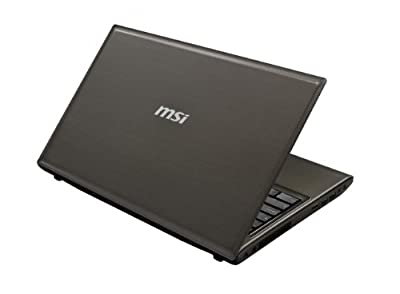 MSI Notebook i5 3210M 15.6-Inch HD 6G 750GB HDD SuperMulti NV GT 645M 2GB, CX61 0NF-256US (Gray)