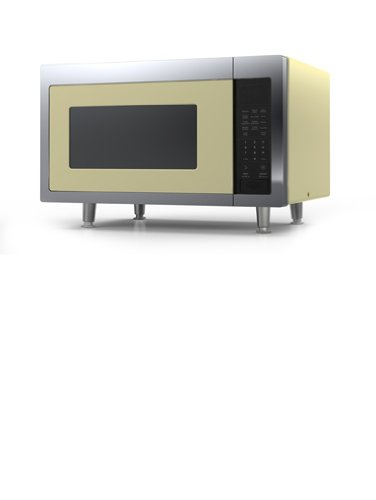 Big Chill Retro Microwave 24 In. Wide - Buttercup Yellow