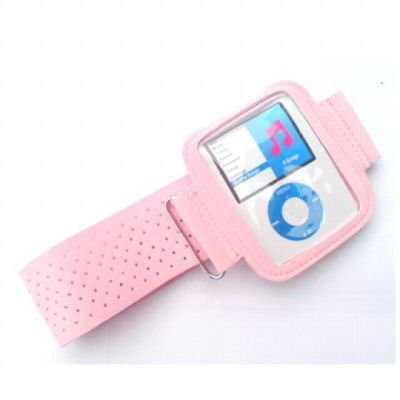 idealsUK - 3G APPLE iPOD NANO 3RD GENERATION SPORTS ARMBAND CASE - PINK