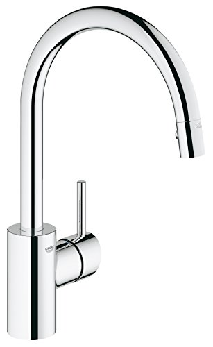 Grohe 32665001 Concetto Single Handle Pull-Down Spray Kitchen Faucet