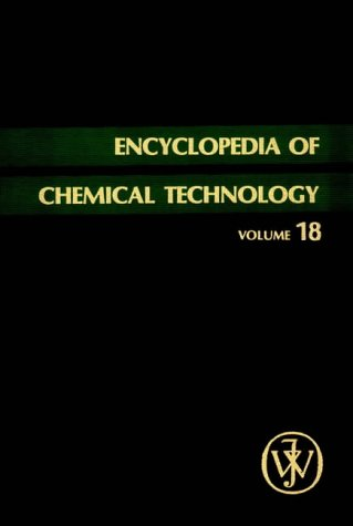 Plant-Growth Substances to Potassium Compounds, Volume 18, Encyclopedia of Chemical Technology, 3rd Edition