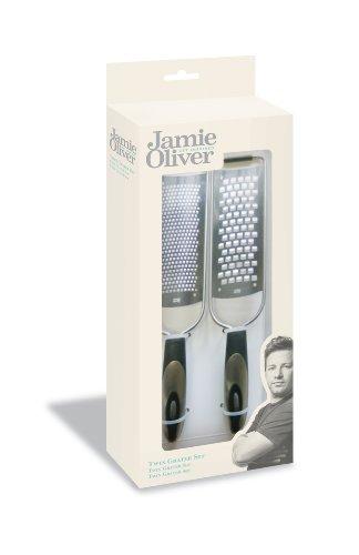 Jamie Oliver Fine and Coarse Acid Etch Grater Set