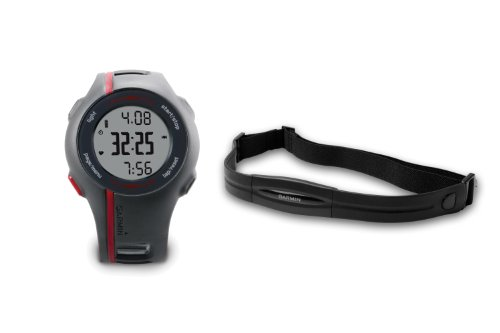 Garmin Forerunner 110 GPS Enabled Mens Sports Watch with Heart Rate Monitor