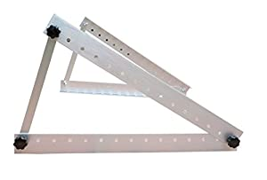 Adjustable Solar Panel Mount Mounting Rack Bracket -- Boat, RV, Roof, Off-Grid from Windy Nation