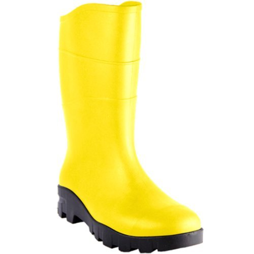 Heartland Footwear 44250-08 Unisex Value Boot, Size-8, Yellow and Black