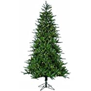 Sterling/Palm Tree 6256-75C 7.5' Pre-Lit Artificial Tree