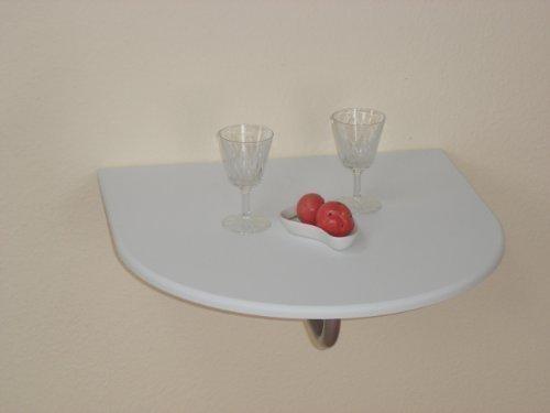 moebel-direkt-online-Wandtisch--Klapptisch--Kchen-Wandtisch--Sparraumtisch-zum-Abklappen--In-2-Farben-lieferbar-Platte-wei