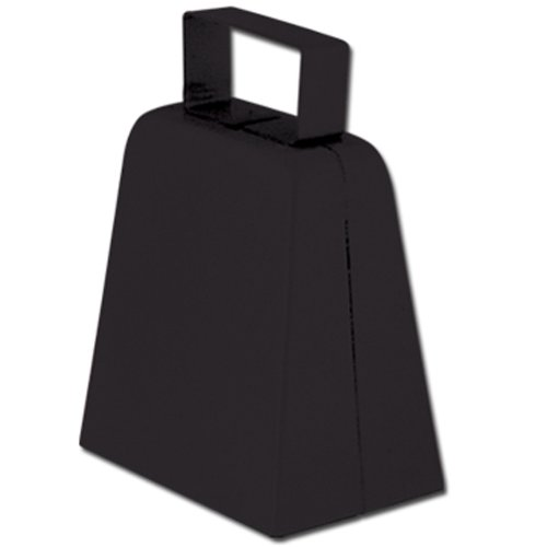Beistle 154577 Black Cowbell
