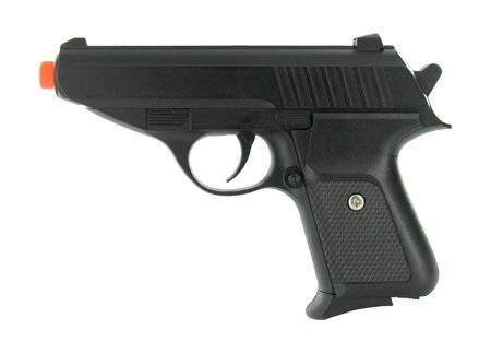 Spring Metal Classic Black James Bond Pistol